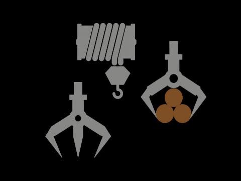 Puu-,tiltti-ja klapikourat sekä vetovinssit