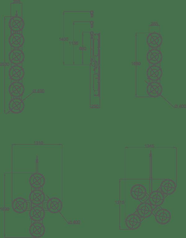 JVL600-dimensions